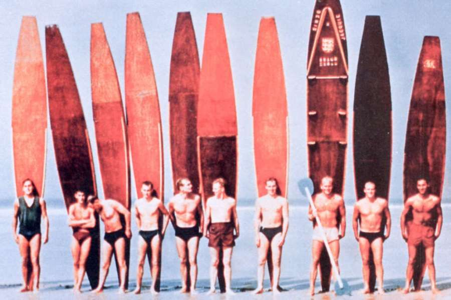 early surfboards