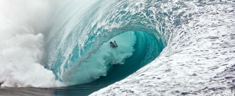 Самые большие волны.