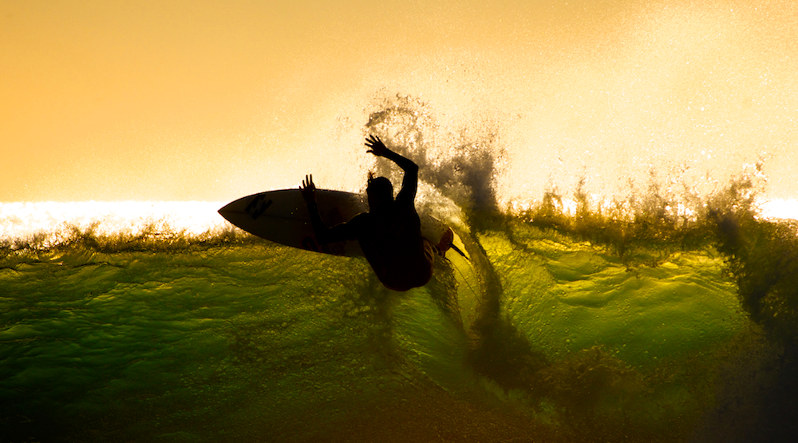 Сёрфинг фото: используй свет