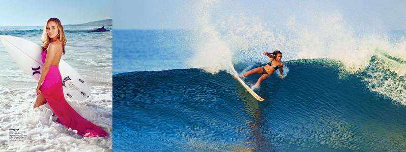 Серфинг девушки - Карисса Мур