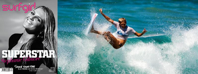 Сёрфинг девушка