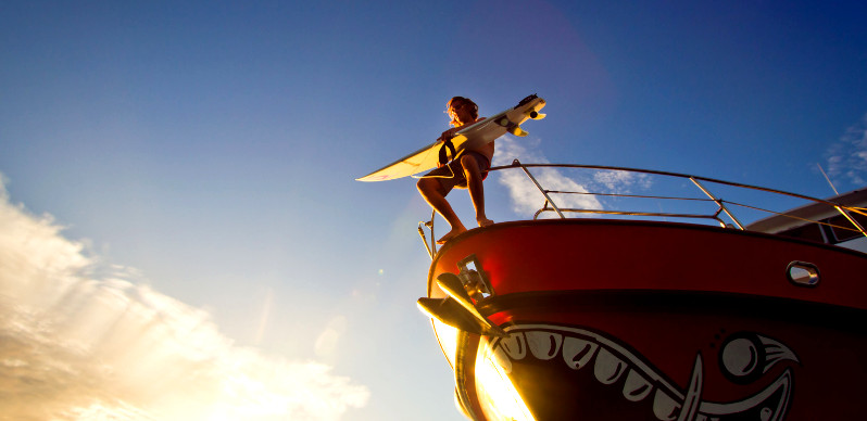 Сёрфинг фото: сёрф-трипы