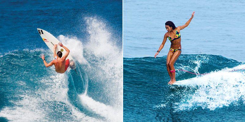 Серфинг как вид спорта. Дисциплины шортборд и лонгборд