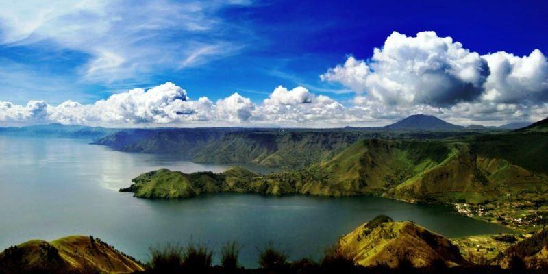 вулканы Индонезии