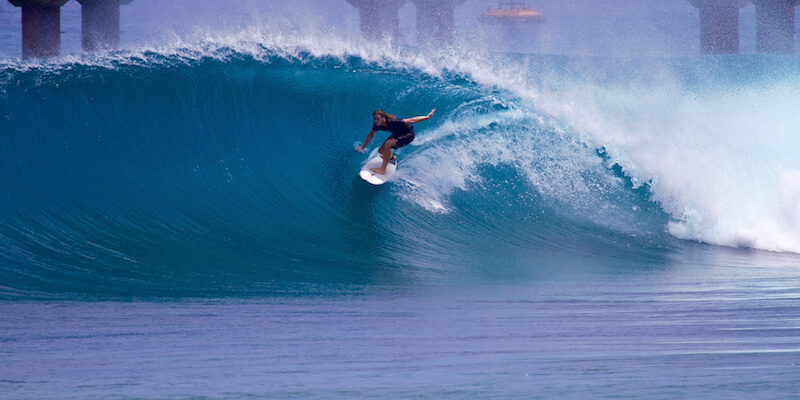 серфинг в Индии