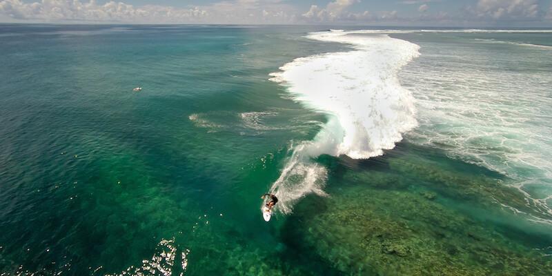 серфинг в Индийском океане